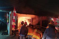 4 Ruko di Bekasi Dilalap Api, Diduga akibat Korsleting Listrik