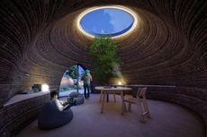 Arsitek Ini Bangun Rumah Cetak 3D dari Tanah Liat
