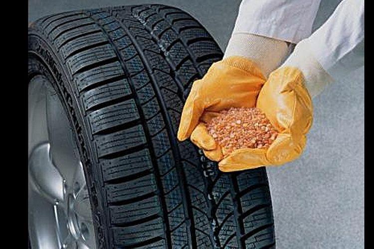 Material baru membuat ban menjadi pintar, menyesuaikan diri dengan permukaan jalan atau cuaca