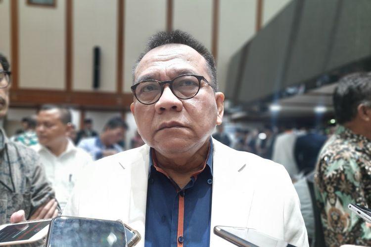 Wakil Ketua DPRD DKI Jakarta dari Fraksi Gerindra Mohammad Taufik, di Balai Agung, Balai Kota, Jumat (21/2/2020)
