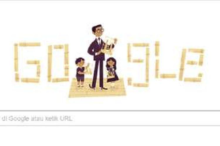 Google peringati ulang tahun Daneg Soetigna