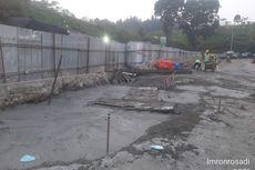 Penjelasan KCIC soal Jalan Ambles di Samping Terowongan 8 Kereta Cepat Jakarta-Bandung