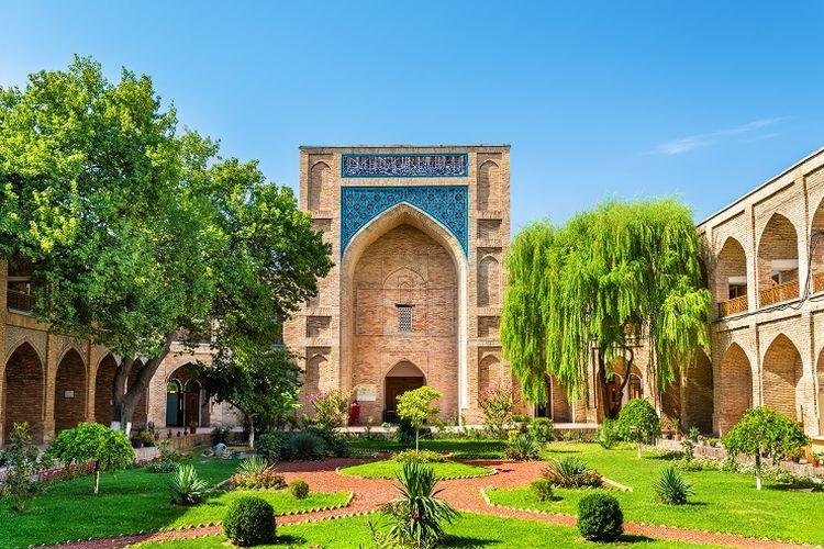 Ilustrasi Kota Tashkent di Uzbekistan.