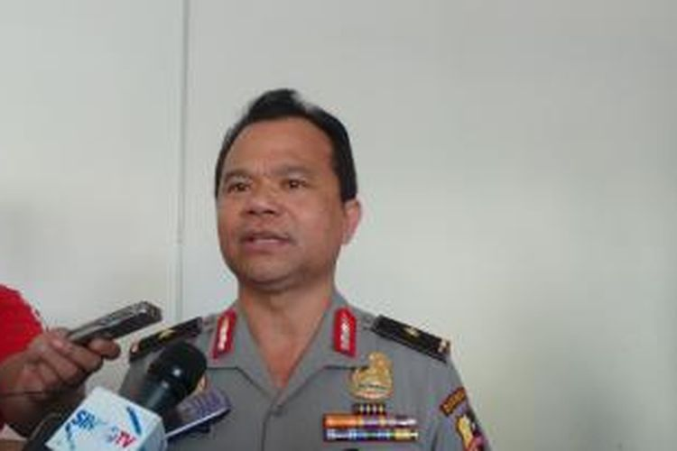 Kepala Divisi Humas Polri Inspektur Jenderal Ronny Franky Sompie.