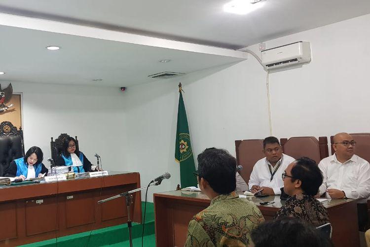 Sidang pemblokiran akses internet di Papua hadirkan saksi ahli.