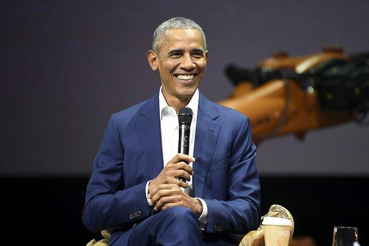 Mantan Presiden Amerika Serikat Barack Obama.