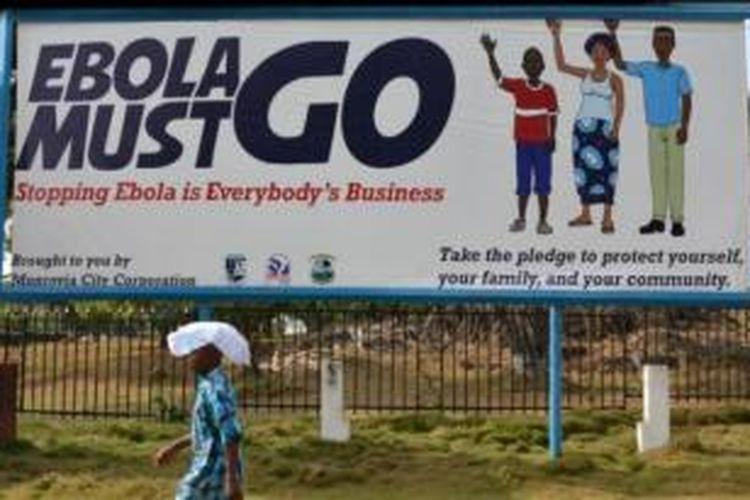 Sejak awal Maret 2015, tak ada kasus baru ebola di Liberia.