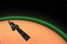 Cahaya Hijau Zamrud Muncul di Atmosfer Mars, Apakah Itu?