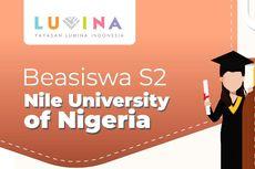 Beasiswa Penuh S2 di Nigeria, Ini Infonya