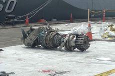 Turbin Lion Air JT 610 Ditemukan di Kedalaman 32 Meter