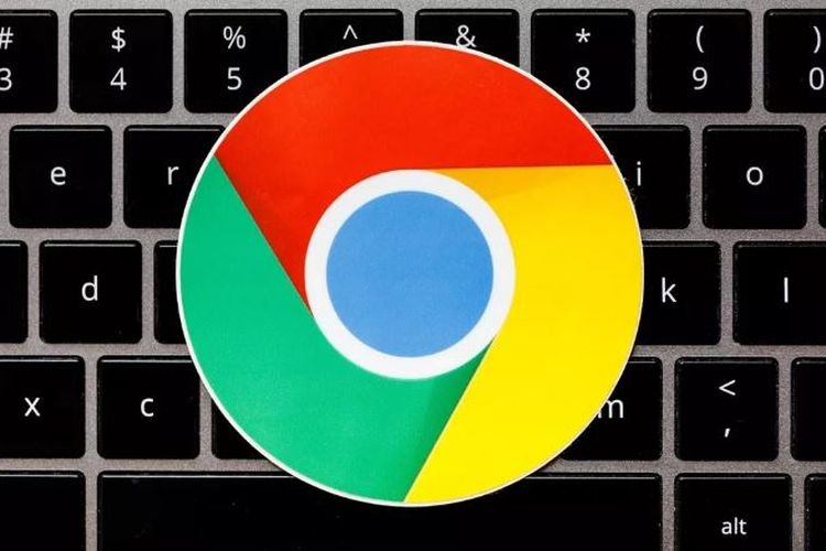 Ilustrasi logo Chrome