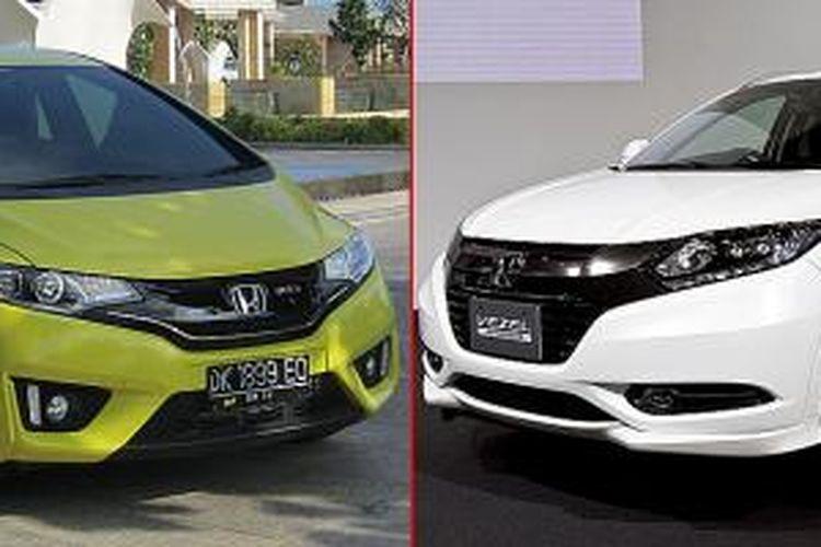 Honda All Jazz versus HR-V