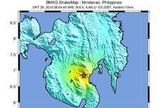 Gempa Dahsyat Guncang Mindanao Filipina, Terasa Sampai Indonesia