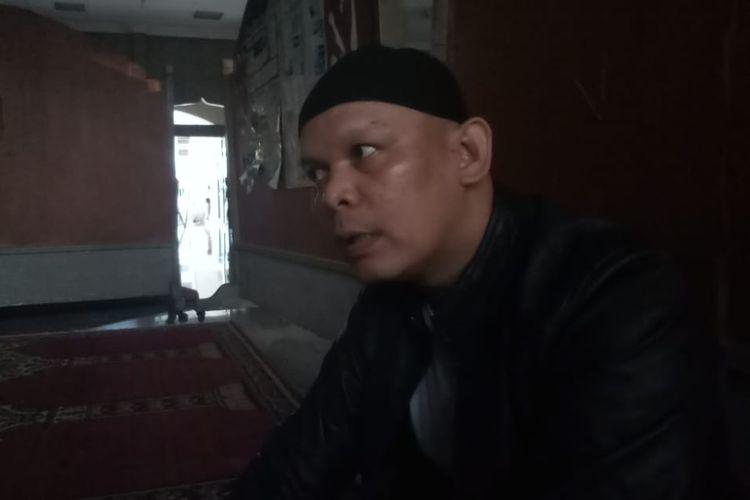 Muhammad Zaini saat ditemui di posko banjir Cipinang Melayu, Jakarta Timur, Rabu (1/1/2020).
