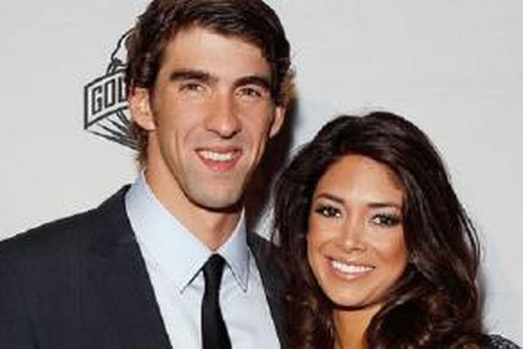 Michael Phelps dan NIcole Johnson