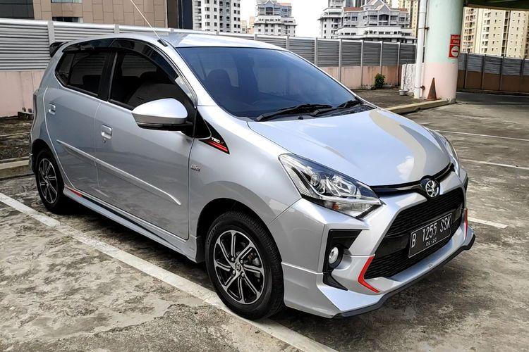 Tes drive Toyota Agya TRD AT 2020