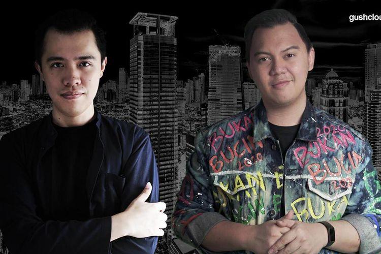 Oddie Randa selaku Country Director Gushcloud Indonesia dan Chandra Liow. (Dokumentasi Gushcloud Indonesia).