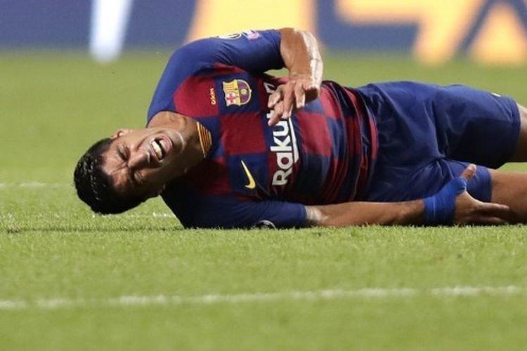 Penyerang Barcelona, Luis Suarez.
