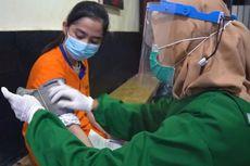 Puluhan Tahanan Rutan Gresik Ikuti Vaksinasi Covid-19