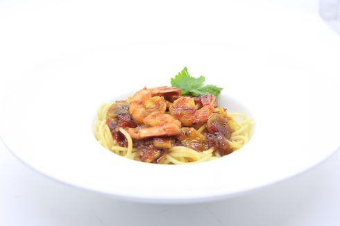 4 Tips Memasak Shrimp Pasta with Thai Sauce ala Hotel Salak Heritage Bogor