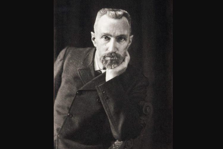 Foto fisikawan Perancis, Pierre Curie, yang diambil sekitar tahun 1906.