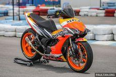 Begini Jadinya Kalau Honda Supra Jadi Motor Balap MotoGP