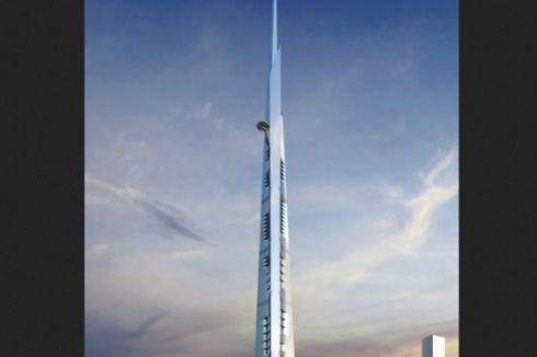 Kingdom Tower Bakal Habiskan Setengah Juta Meter Kubik Beton