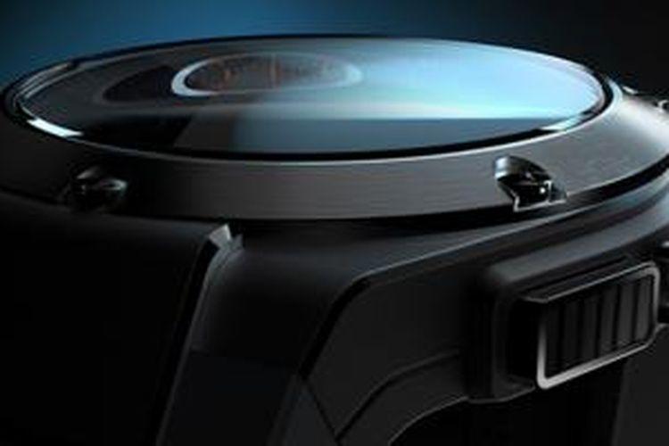 Ilustrasi smartwatch mewah dari HP