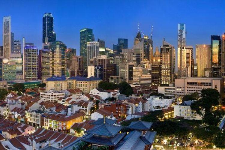 Tingkat penjualan properti Singapura hanya tumbuh 0,4 persen.