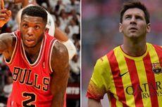 """Raja """"Slam Dunk"""" NBA Pakai Nomor Messi"""