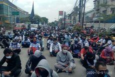 Aksi Protes Omnibus Law Disekat Polisi, Aliansi Buruh Sebut Pembungkaman Demokrasi