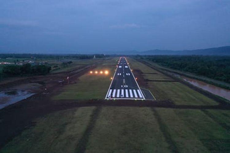 Bandara Jenderal Besar Sudirman rampung 100 persen.