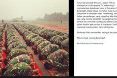 Prajurit TNI Shalat Berjemaah Sebelum