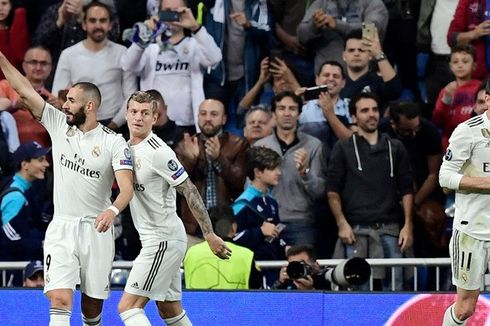 Hasil Real Madrid Vs Plzen, Karim Benzema Samai Catatan Lionel Messi