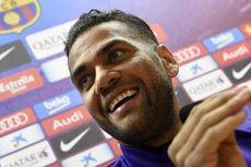 Dani Alves: Saya Menghormati Ronaldo