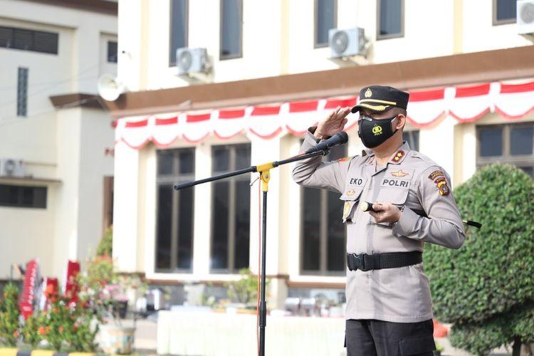 Kapolres Lhokseumawe, Aceh, AKBP Eko Hartanto