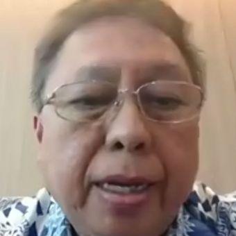 CEO Erajaya sekaligus Ketua APSI, Hasan Aula, dalam acara diskusi virtual yang digelar ITF, Rabu (24/6/2020).
