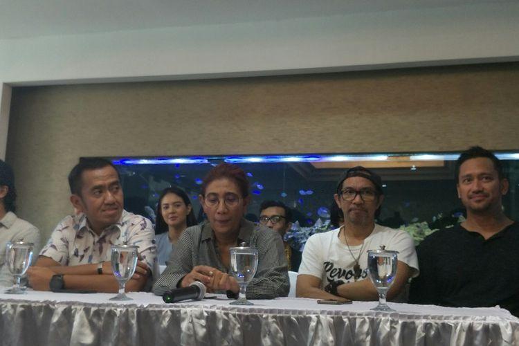 Menteri Kelautan dan Perikanan Susi Pudjiastuti dalam konferensi pers di Jakarta, Kamis (15/8/2019)