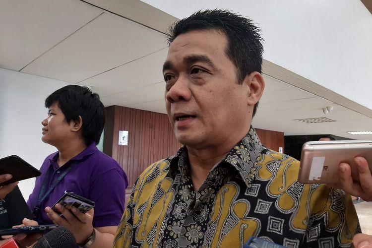 Ahmad Riza Patria di DPR, Senayan, Jakarta, Kamis (23/1/2020).