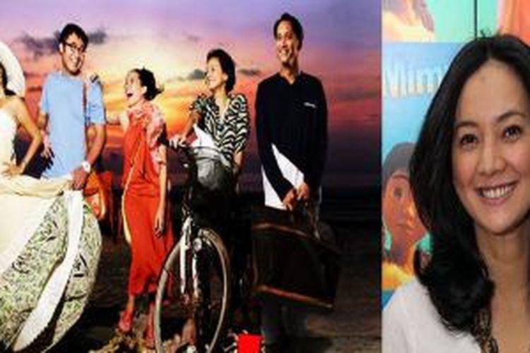 Kiri: Poster Film Arisan 2 yang dibintangi Cut Mini.