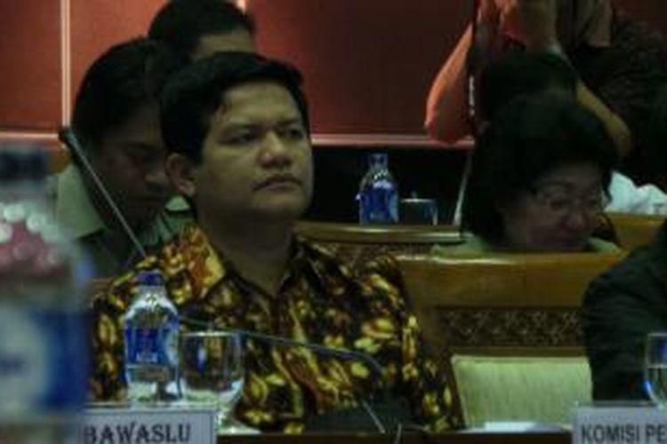 Ketua Komisi Pemilihan Umum (KPU) Husni Kamil Malik