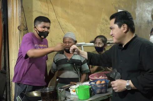Bukan Bipang, Erick Thohir Promosikan Nasi Goreng Babat Pak Sumarsono