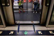 Demo Hong Kong Incar Sarana Transportasi, Pengunjuk Rasa Gelar Aksi di Stasiun MRT
