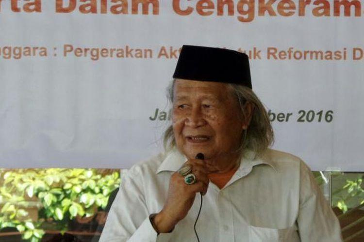 Budayawan Betawi Ridwan Saidi