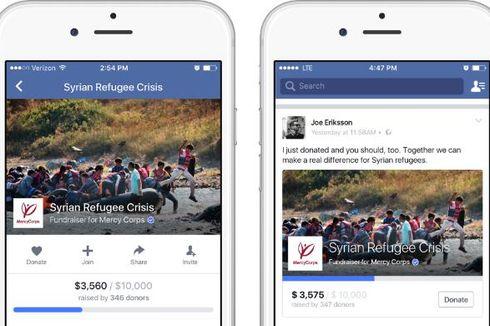 Facebook Uji Fitur Penggalangan Dana untuk Donasi Sosial