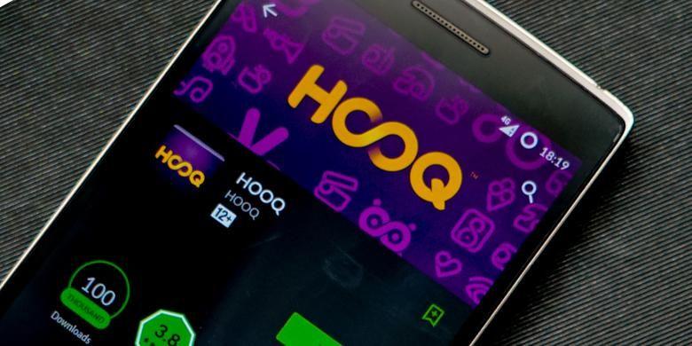 Aplikasi Hooq di Android.(Oik Yusuf/KOMPAS.com)