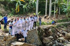 IMBI Serahkan Bantuan Buat Korban Banjir Sukabumi