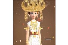 Baju Tulang Bawang, Pakaian Adat Lampung