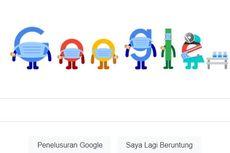 Google Ingatkan Pentingnya Protokol Kesehatan Covid-19 lewat Doodle Hari Ini