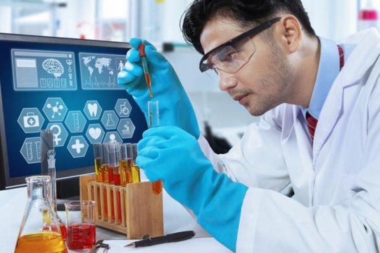 Ilustrasi industri farmasi